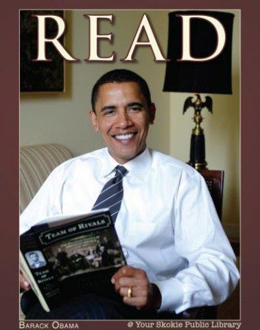 Obama llegint