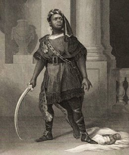 Aaron, el moro de Titus Andrònic