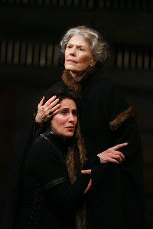 La reina Elisabeth i la duquessa de York