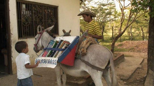 Bibloburro: biblioteca rural ambulant