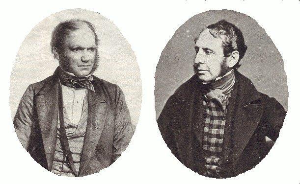 Charles Darwin i Robert FitzRoy