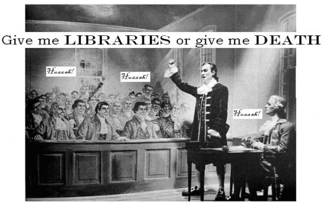 Give me libraries or give me death
