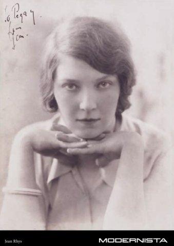 Fotografia de Jean Rhys, escriptora angloantillana. Extreta de www.modernista.se