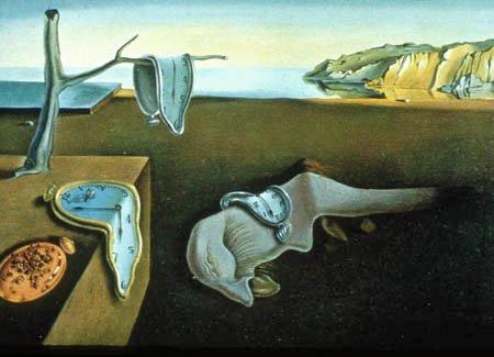 La persistència de la memòria, de Salvador Dalí