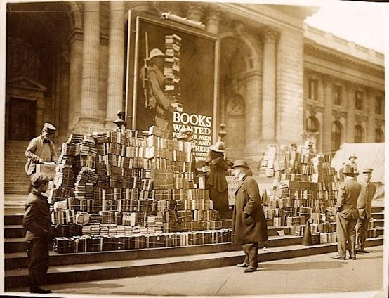 Quan els llibres anaven a la guerra
