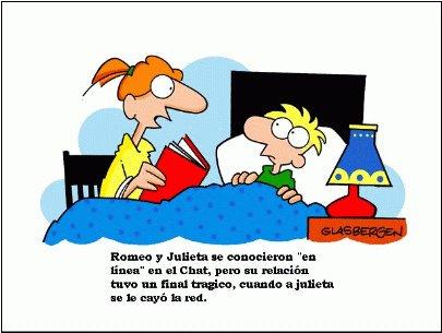 Acudit de Romeu i Julieta